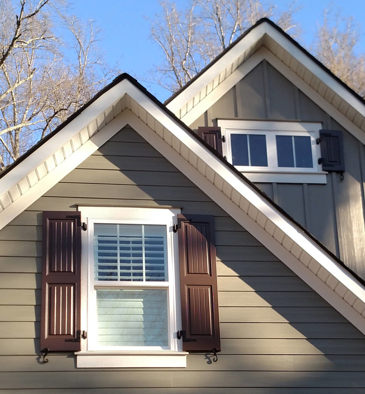 Panel V Groove Exterior Shutters Palmetto Window