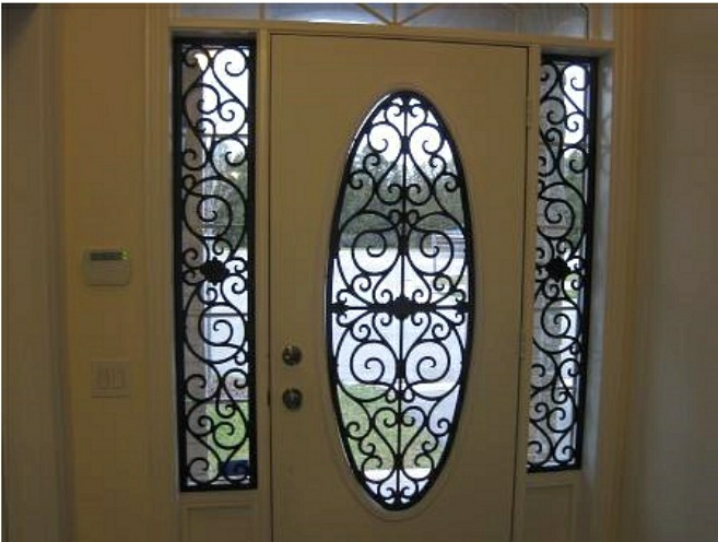 Ornamental Iron Art Faux Work Palmetto Window Fashions Shutters Shades Blinds Drapery Greenville Sc