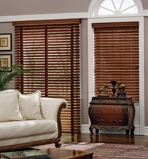 Wood Fauxwood Blinds Palmetto Window Fashions Shutters Shades Blinds Drapery